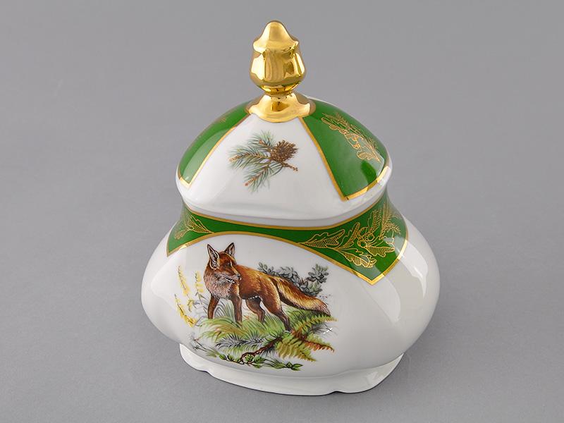 Фото Шкатулка для чайных пакетиков 650 мл Форма Мэри-Энн Охотничий изумрудный