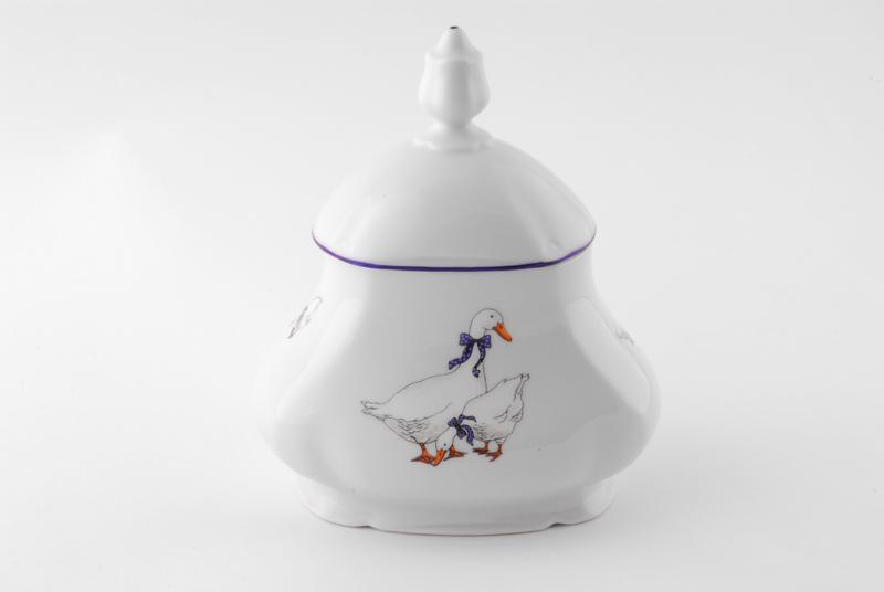 Фото Шкатулка для чайных пакетиков 650 мл Форма Мэри-Энн Чешские гуси