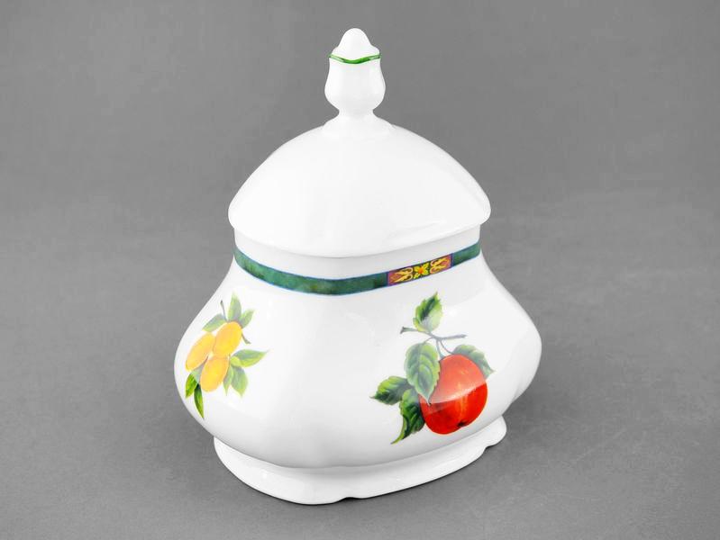 Фото Шкатулка для чайных пакетиков 650 мл Форма Мэри-Энн Фрукты