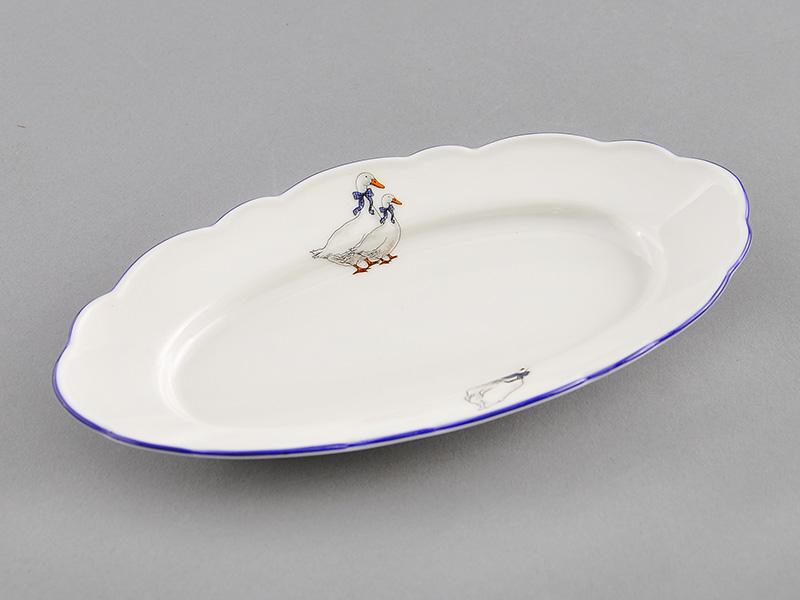 Фото Лоток для шпрот 17 см Форма Мэри-Энн Чешские гуси