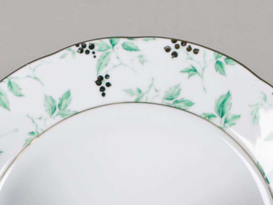 Фото Набор мелких тарелок 25 см 6 шт, Форма Мэри-Энн Дикий виноград