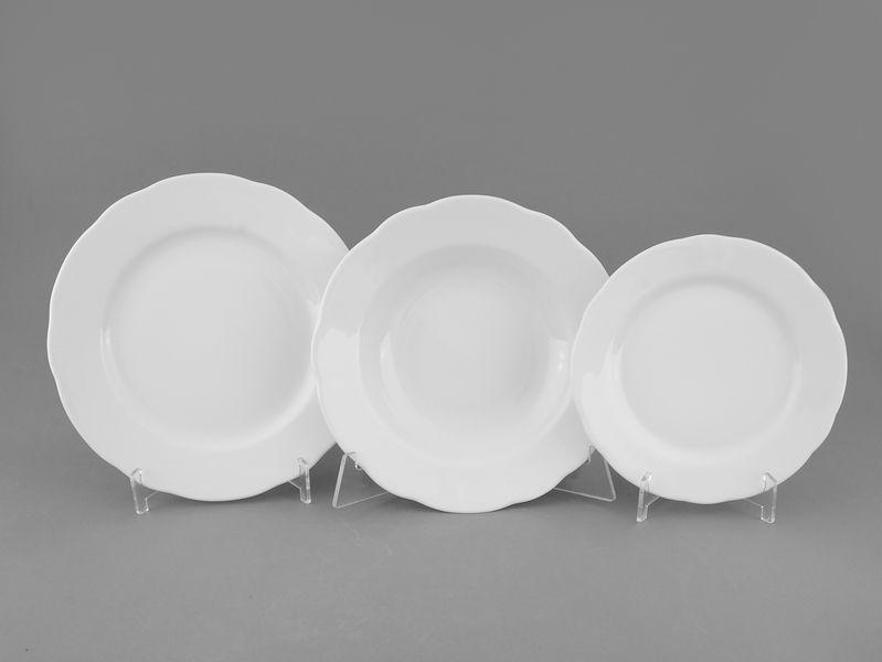 Фото Набор тарелок 18 шт на 6 персон, Форма Мэри-Энн Лунный свет