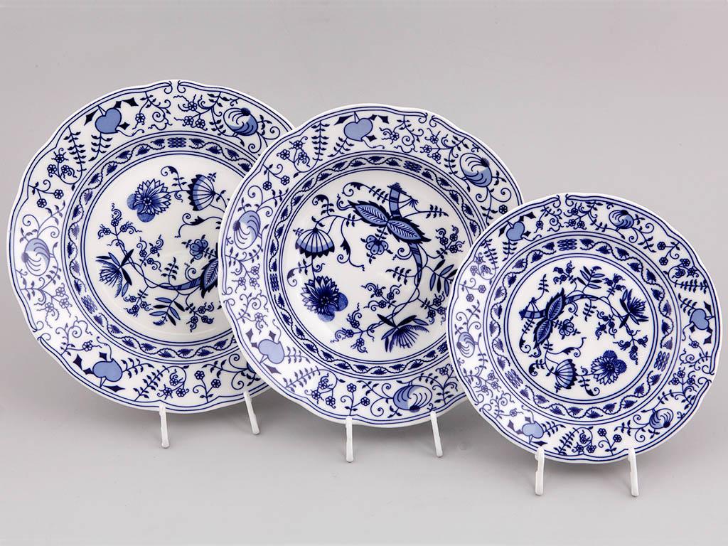 Фото Набор тарелок Вальдорф 18 шт на 6 персон Форма Мэри-Энн
