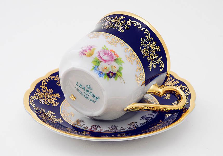 Фото Набор чашек кофейных с блюдцем 150 мл, 6 шт Форма Мэри-Энн Роскошный букет