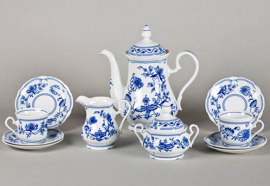 Фото Сервиз кофейный 15 предметов на 6 персон, Форма Мэри-Энн Вальдорф