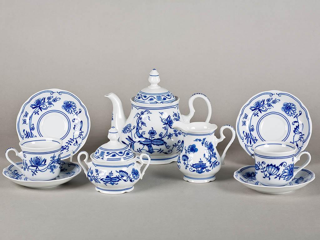 Фото Сервиз чайный 15 предметов на 6 персон, Форма Мэри-Энн Вальдорф