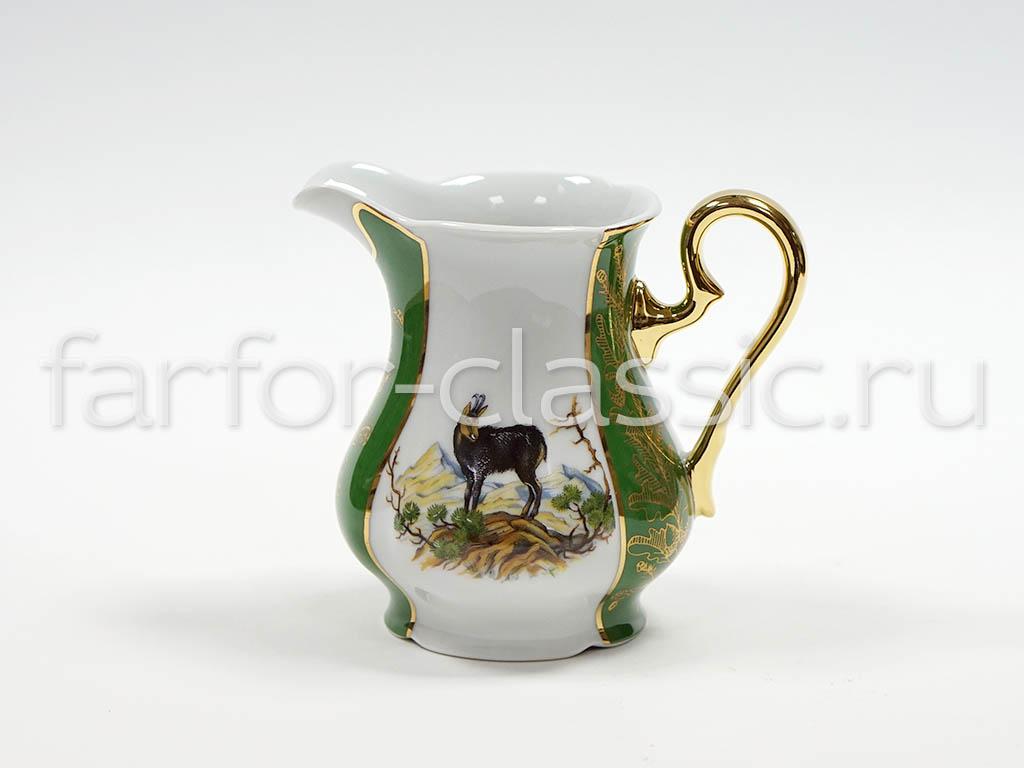 Фото Сервиз чайный 15 предметов на 6 персон, Форма Мэри-Энн Охотничий изумрудный