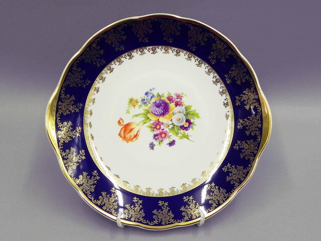 Фото Набор для торта 7 предметов на 6 персон, тарелки 17 см,  Форма Мэри-Энн Роскошный букет