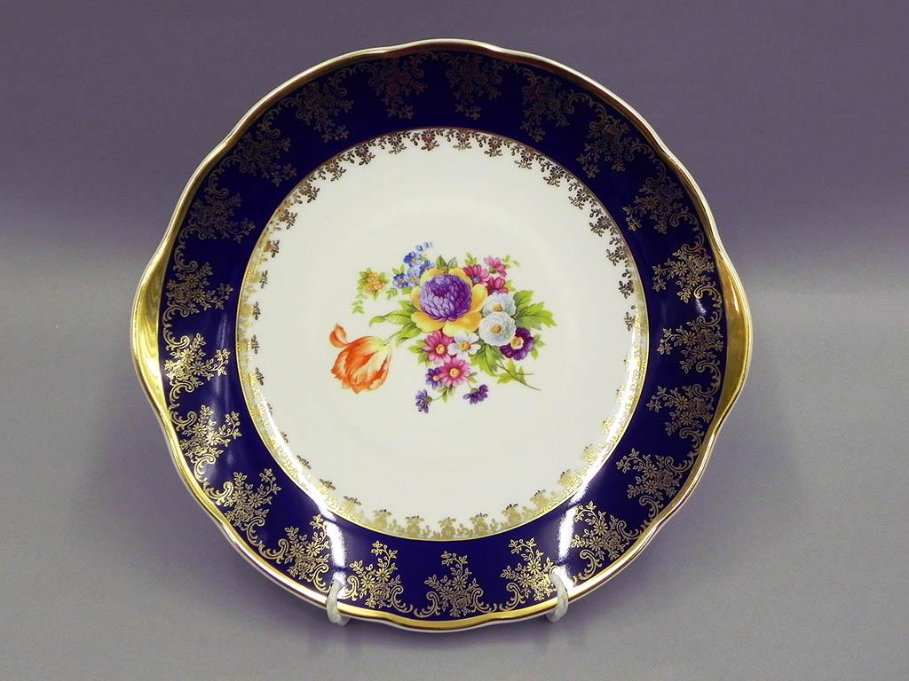 Фото Набор для торта 7 предметов на 6 персон, тарелки 19 см, Форма Мэри-Энн Роскошный букет
