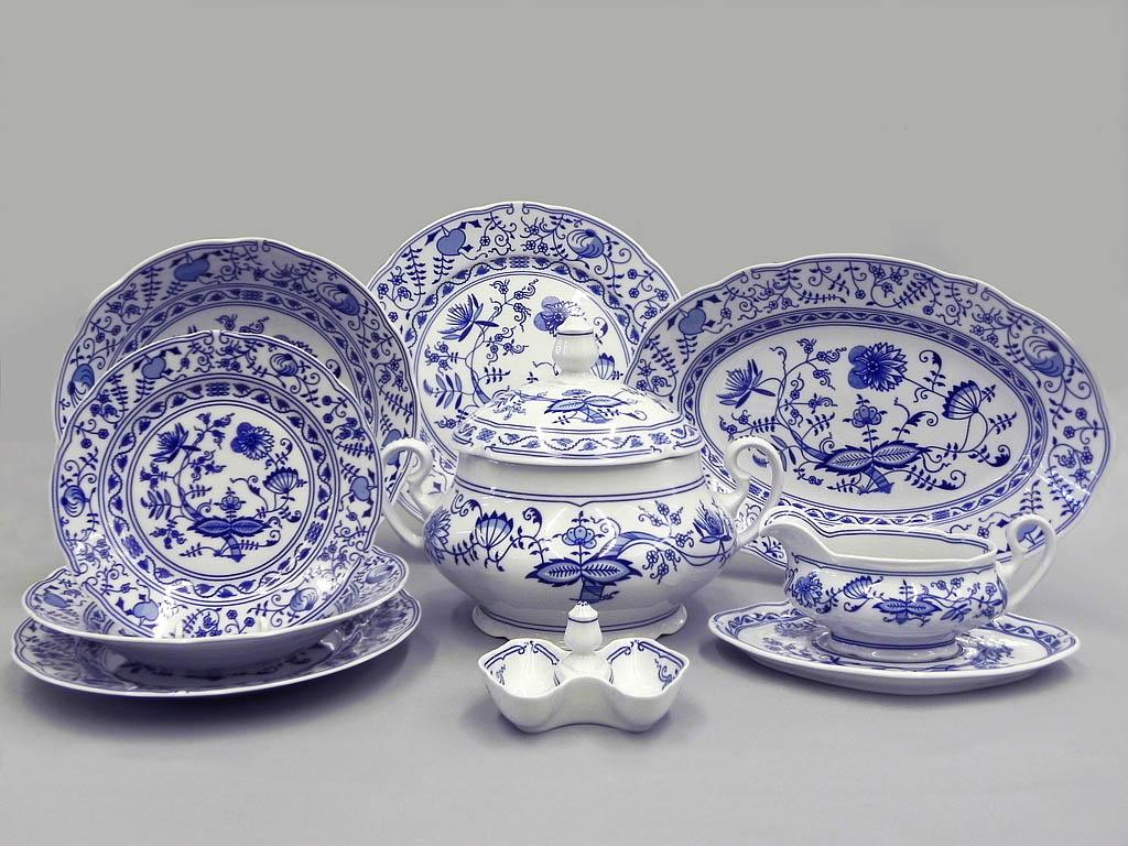 Фото Сервиз чайно-столовый Вальдорф 40 предметов на 6 персон, Леандер Форма Мэри-Энн