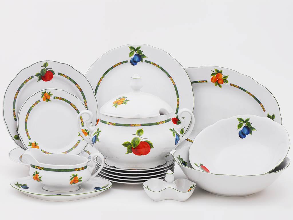 Фото Сервиз столовый 25 предметов на 6 персон, Форма Мэри-Энн Фрукты