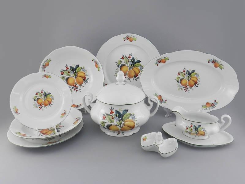 Фото Сервиз столовый 25 предметов на 6 персон, Форма Мэри-Энн Абрикосы