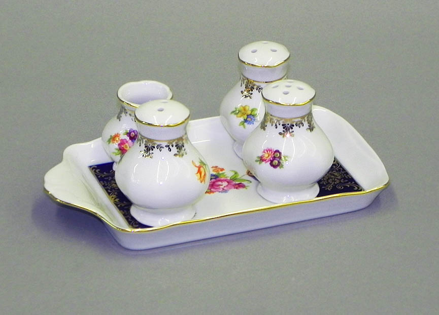 Фото Набор для приправ 5 предметов Форма Мэри-Энн Роскошный букет