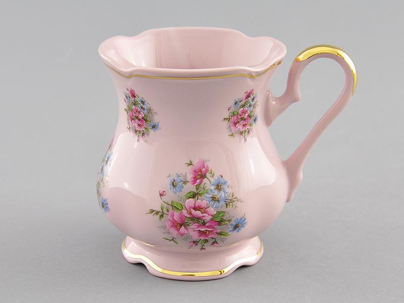 Фото Кружка 250 мл, Форма Мэри-Энн Полевые цветы - Розовый фарфор