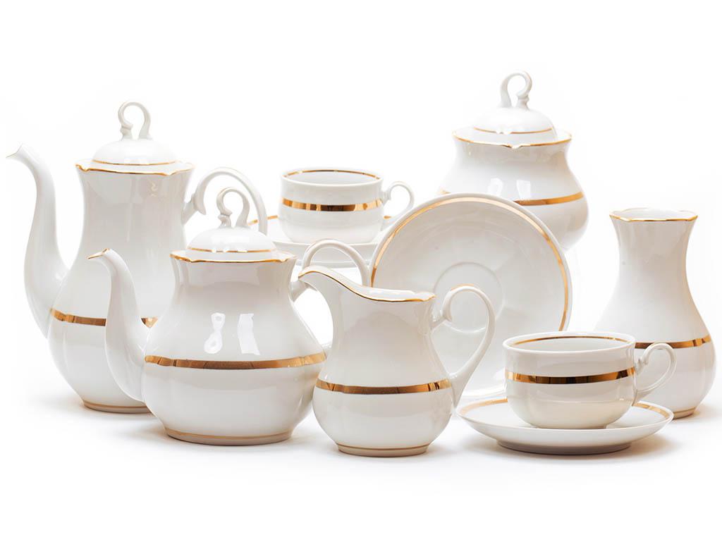 Фото Сервиз чайный Дулево Аппетитный Монреаль, 15 предметов