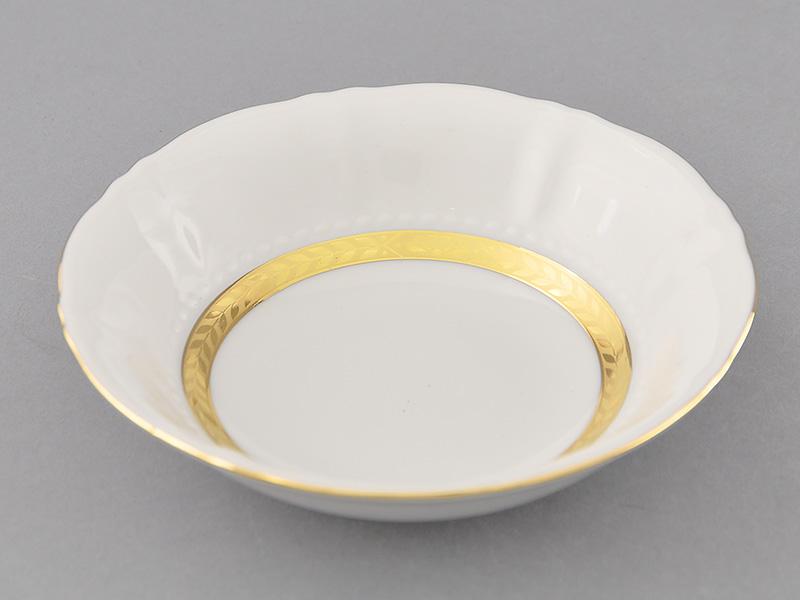 Фото Салатник круглый 13,5 см Форма Соната Белиссима золото