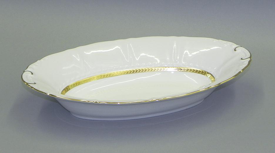 Фото Корзина для хлеба Леандер 33,5 см Форма Соната Белиссима золото