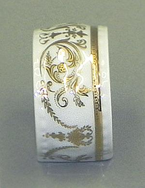 Фото Кольцо для салфеток Форма Соната Королевский золотой