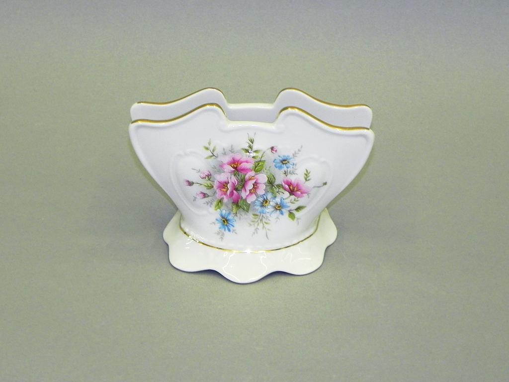 Фото Подставка для салфеток 8,5 см Форма Соната Полевые цветы