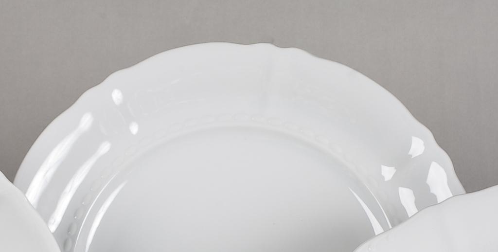 Фото Набор тарелок мелких 25 см, 6 шт, Форма Соната Лунный свет