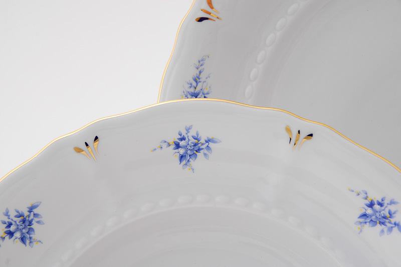 Фото Набор тарелок мелких 25 см, 6 шт, Форма Соната Розмарин