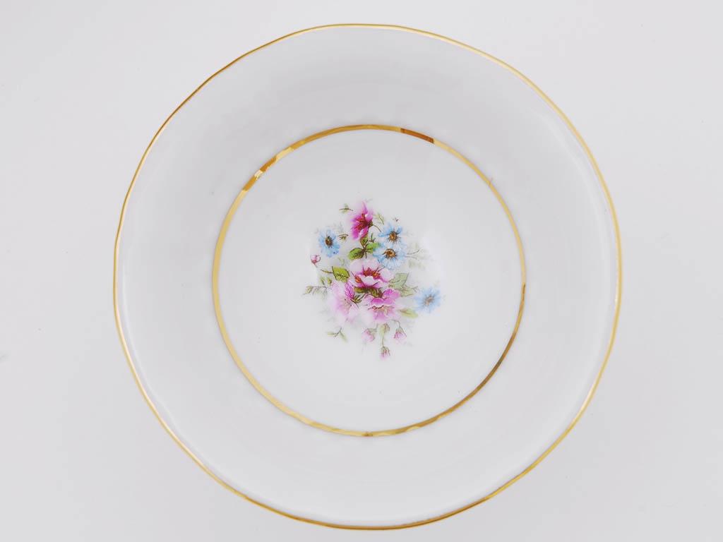 Фото Набор тарелок мелких 25 см, 6 шт, Форма Соната Полевые цветы