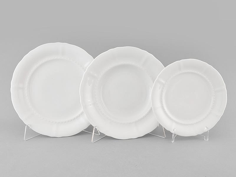 Фото Набор тарелок 18 предметов на 6 персон, Форма Соната Лунный свет