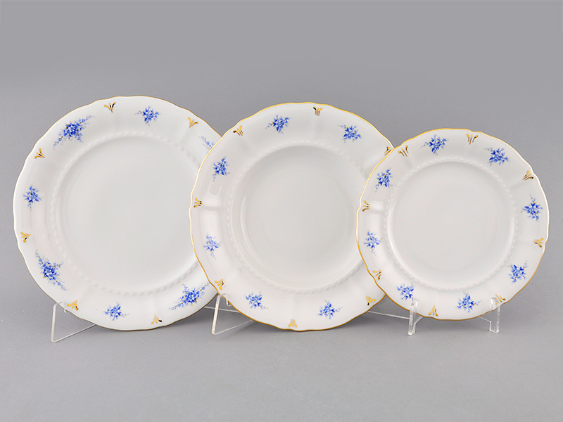 Фото Набор тарелок 18 предметов на 6 персон, Форма Соната Розмарин