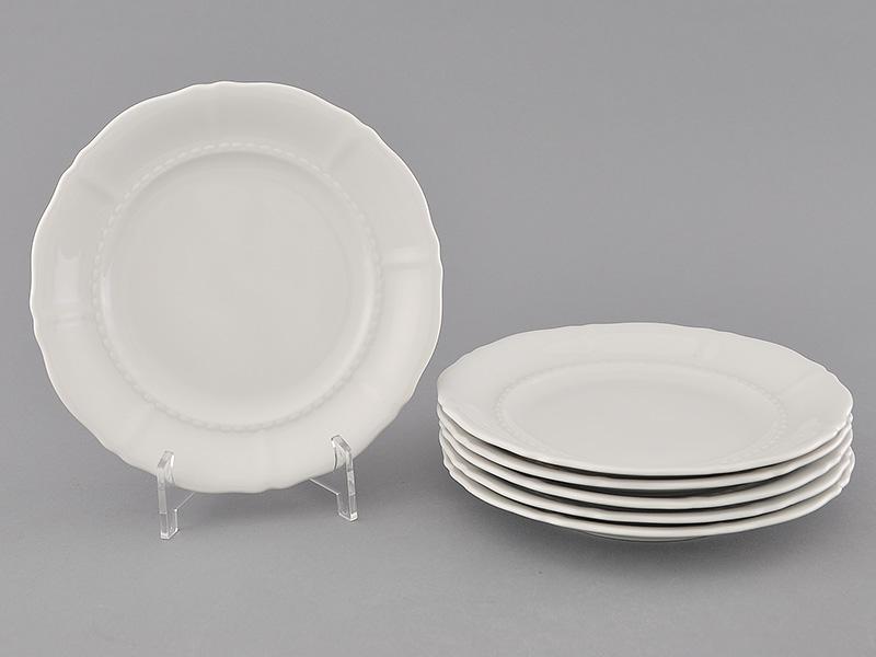 Фото Набор тарелок десертных 17 см, 6 шт, Форма Соната Лунный свет