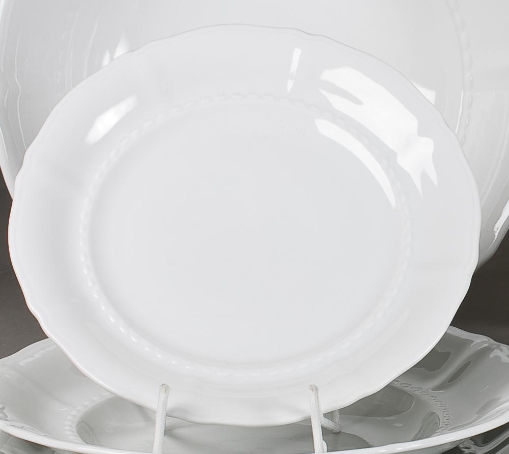 Фото Набор тарелок десертных 19 см, 6 шт, Форма Соната Лунный свет