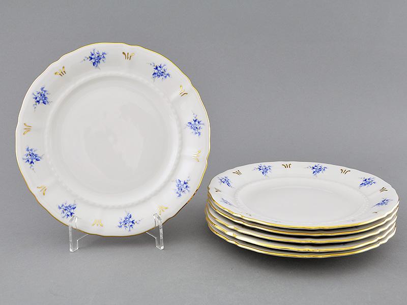 Фото Набор тарелок десертных 19 см, 6 шт, Форма Соната Розмарин