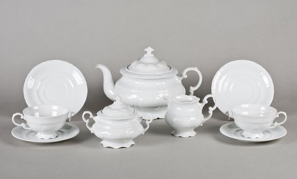 Фото Сервиз чайный Леандер 15 предметов на 6 персон Форма Соната Лунный свет