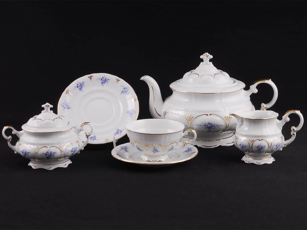Фото Сервиз чайный Леандер 15 предметов на 6 персон Форма Соната Розмарин