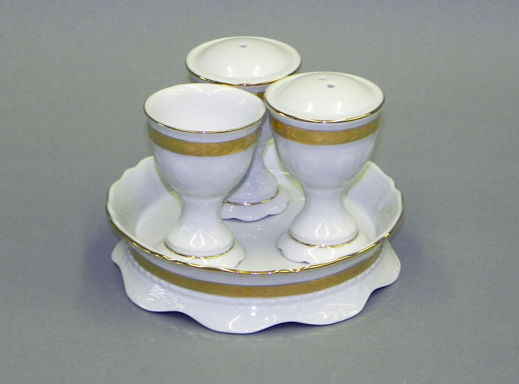 Фото Набор для приправ Леандер, 4 предмета, Форма Соната Белиссима золото