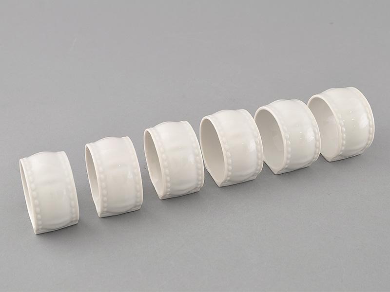 Фото Набор колец для салфеток 6 предметов, Форма Соната Лунный свет