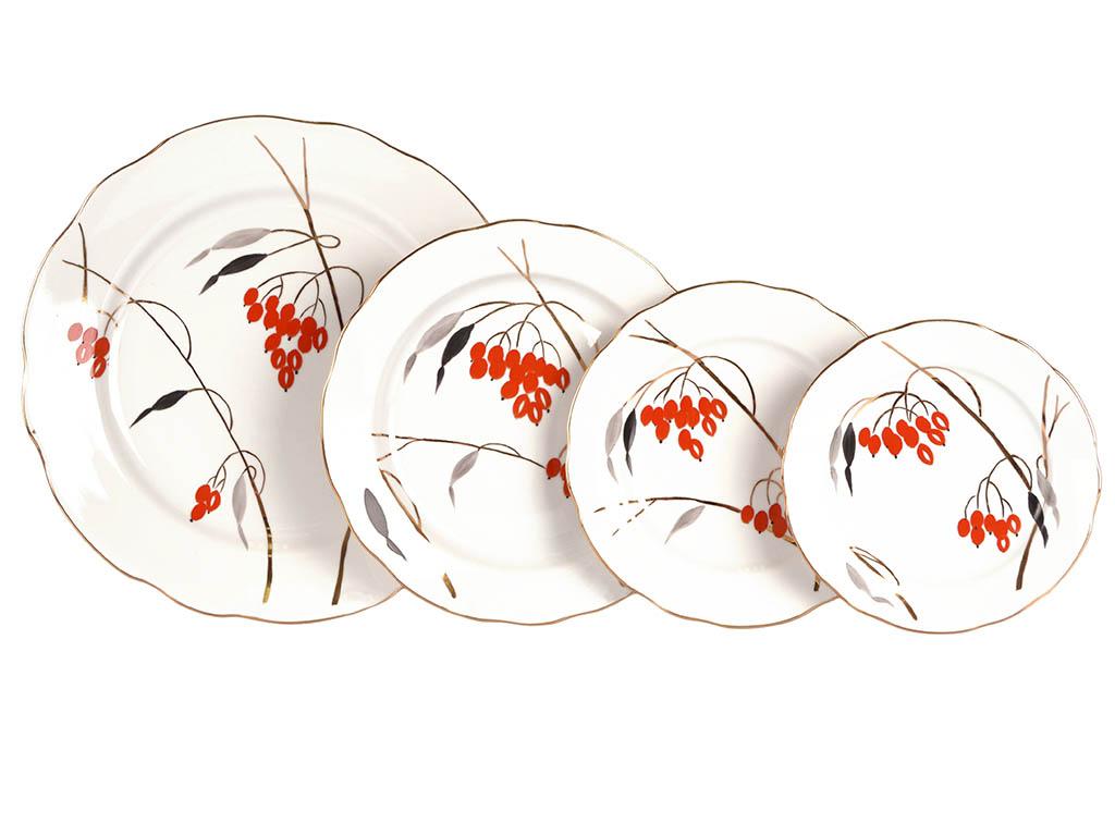 Фото Сервиз столовый Дулево Кизил, 29 предметов на 6 персон