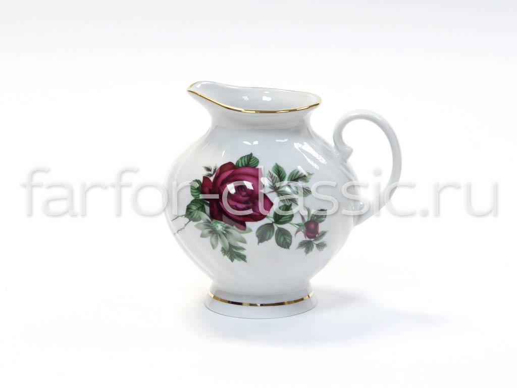 Фото Сервиз чайный Дулево Голубая роза Черная роза, 15 предметов