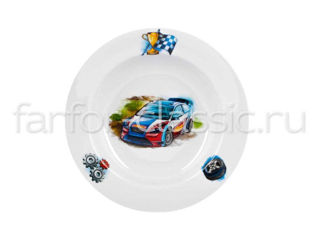 Фото Набор детской посуды Машинки, 3 предмета