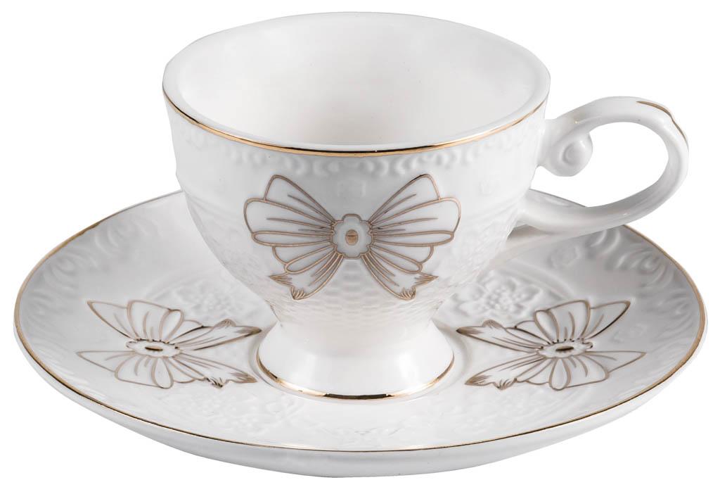 Фото Набор чашек кофейных с блюдцем Balsford Грация Эфира 100 мл 6 шт