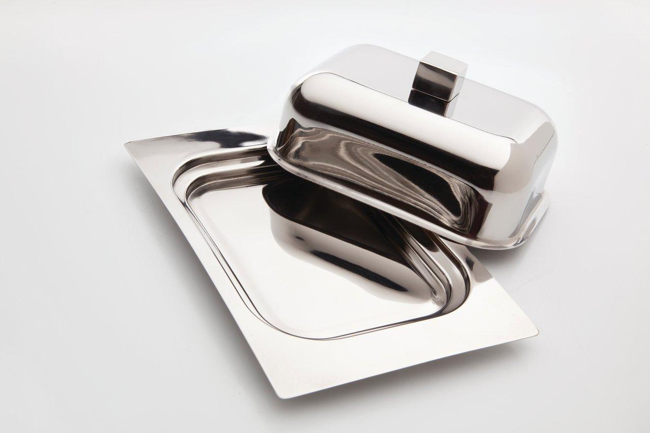 Фото Масленка с металлической крышкой 18,5x12,5x7,5 см BergHOFF Cubo