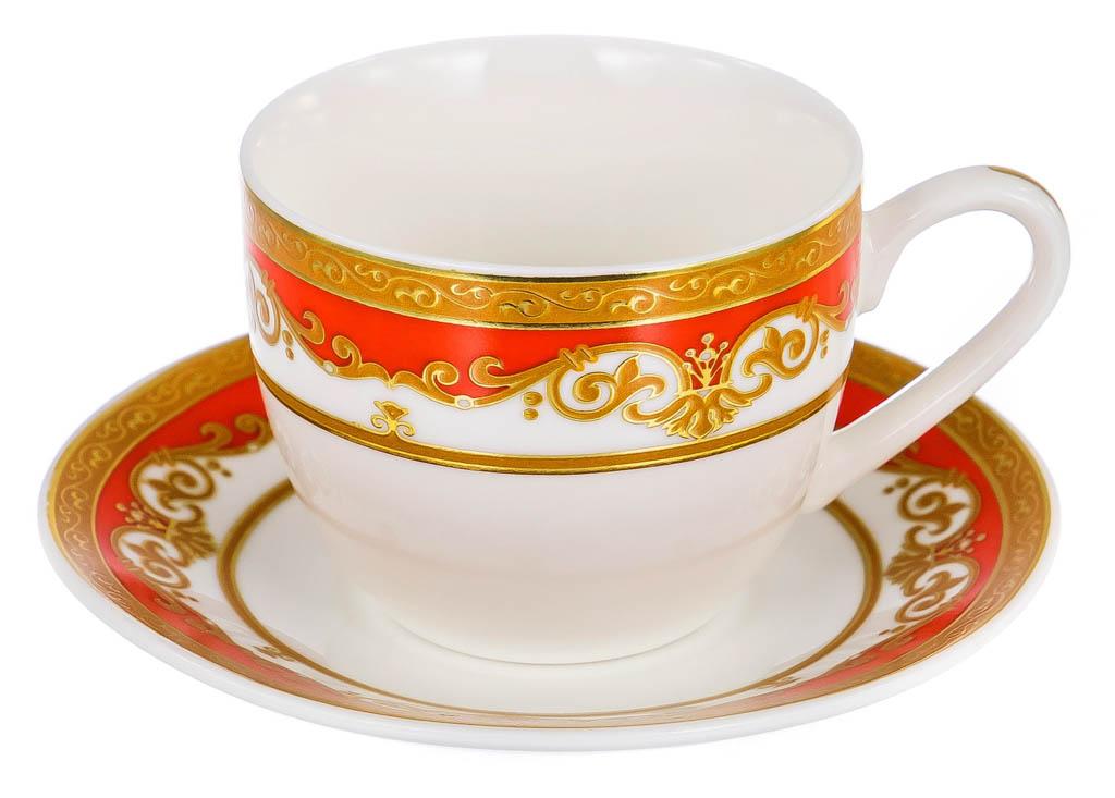 Фото Набор чашек кофейных с блюдцем Balsford Марианна Форма Эстелла 120 мл 6 шт