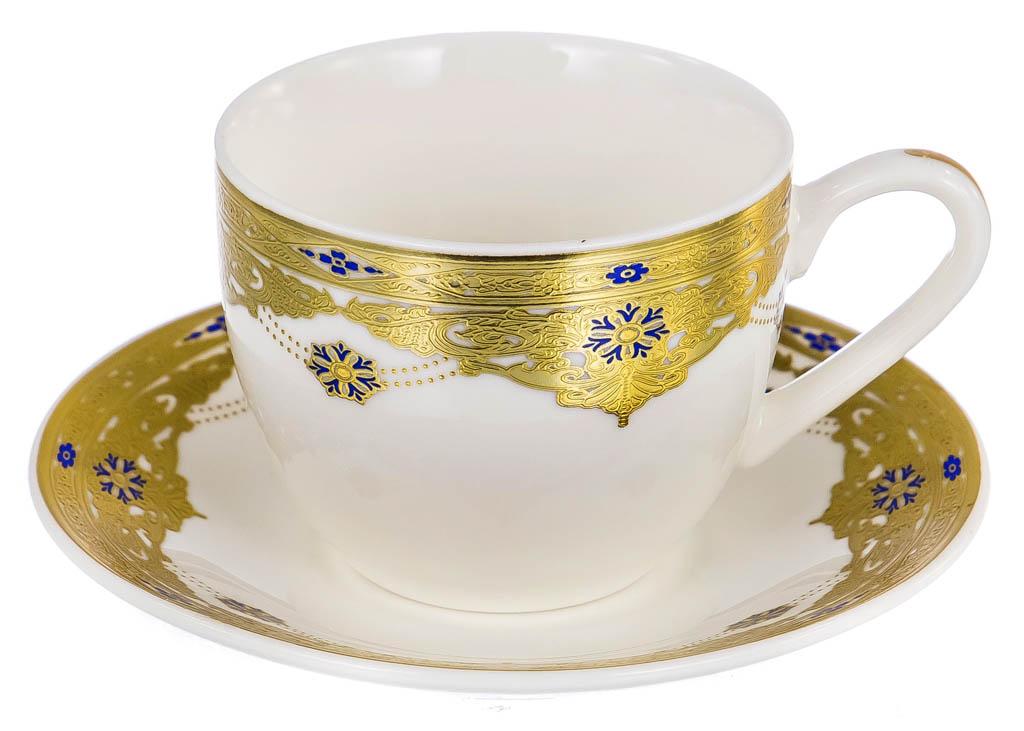 Фото Набор чашек кофейных с блюдцем Balsford Дворцовые тайны Форма Эстелла 120 мл 6 шт