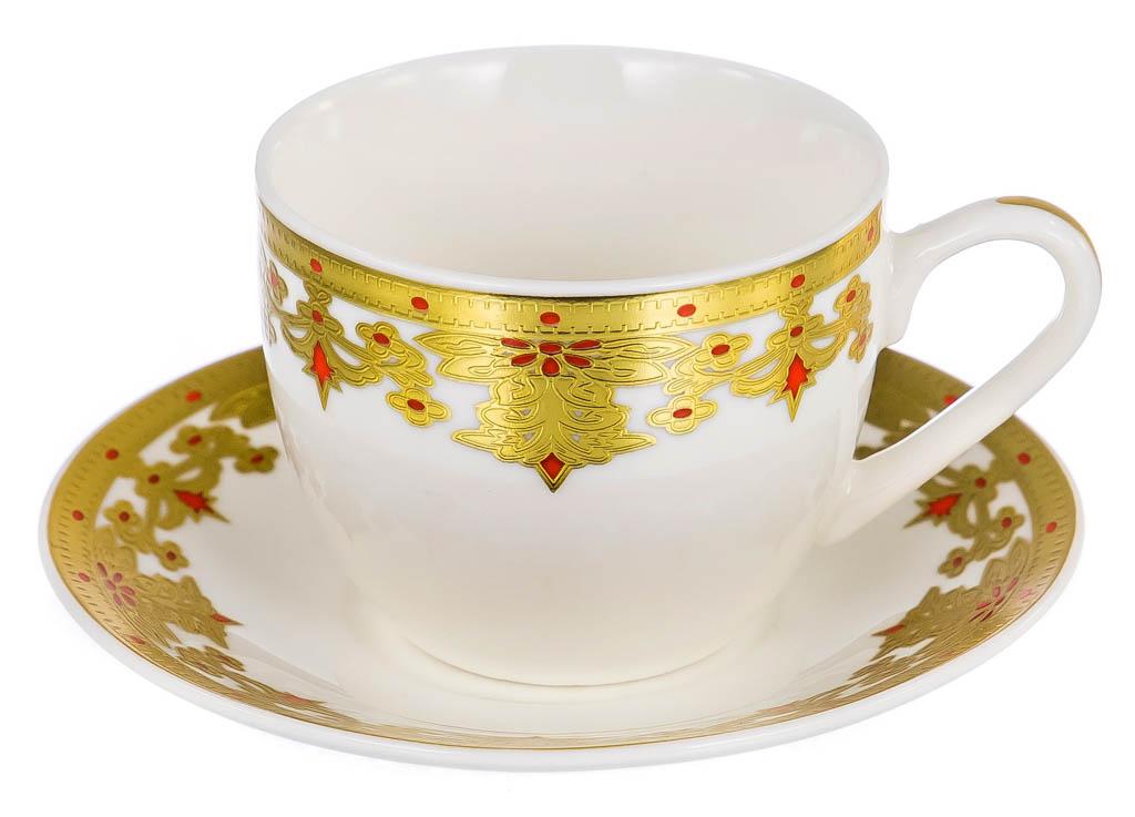 Фото Набор чашек кофейных с блюдцем Balsford 1001 Ночь Форма Эстелла 120 мл 6 шт