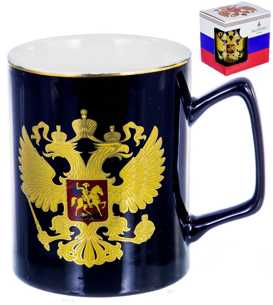 Фото Кружка Balsford Герб России Золотой 350 мл