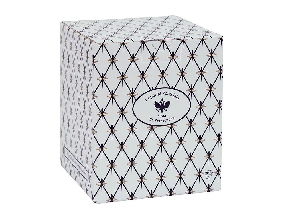 Фото Подарочная упаковка ИФЗ, кубик большой, картон, 25x19 см