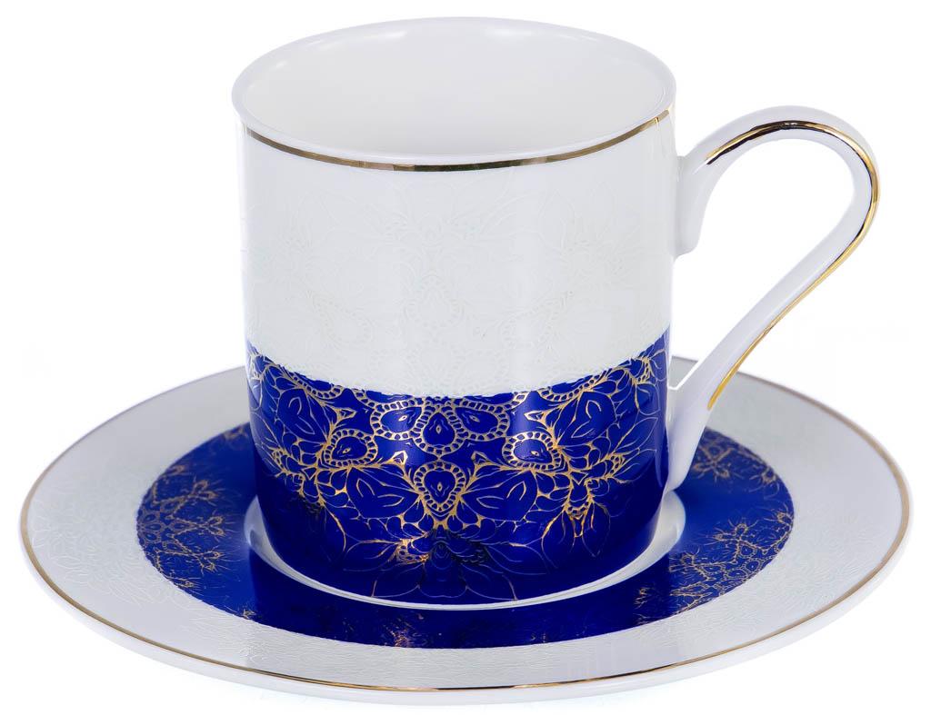 Фото Набор чашек кофейных с блюдцем Balsford Миляс Форма Мармарис 100 мл 6 шт