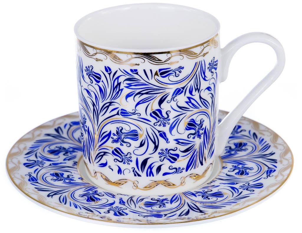 Фото Набор чашек кофейных с блюдцем Balsford Орш Форма Мармарис 100 мл 6 шт