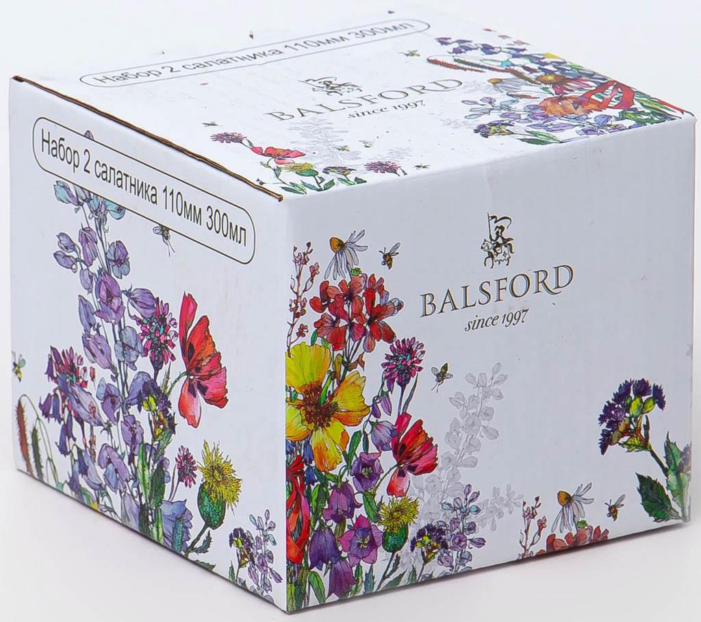 Фото Набор салатников Balsford Полевые цветы 300 мл 2 шт