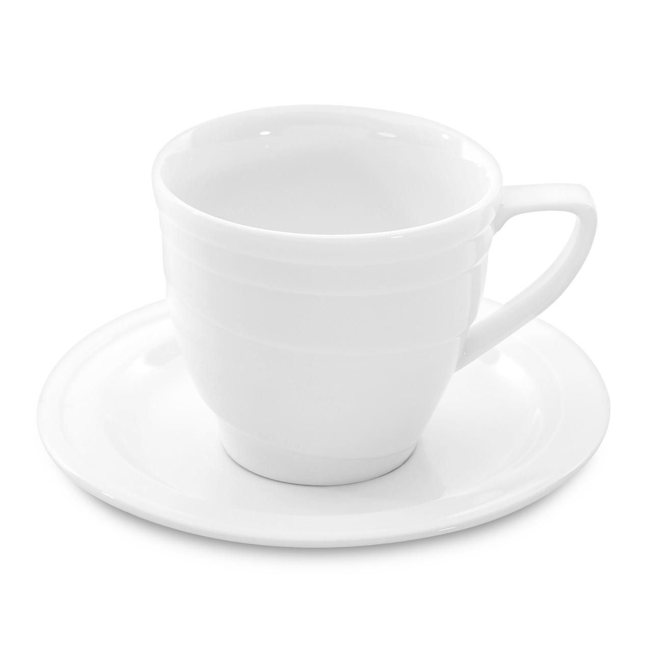 Фото Чашка для кофе с блюдцем средняя 125 мл BergHOFF Hotel