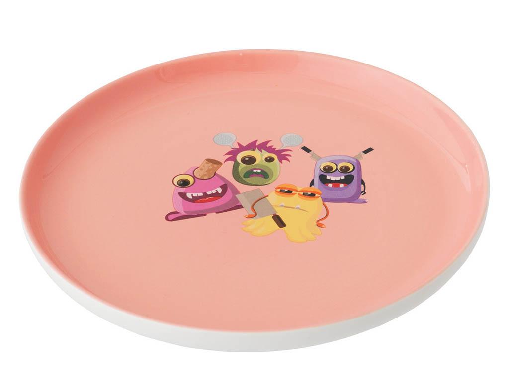 Фото Детский набор посуды BergHOFF розовый 3 предмета